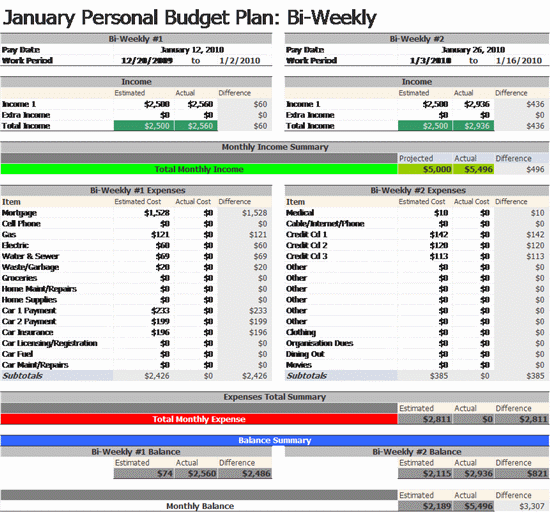 home budget templates ms excel templates