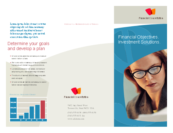 Click Professional Services Marketing Brochure Template Now to download the template.
