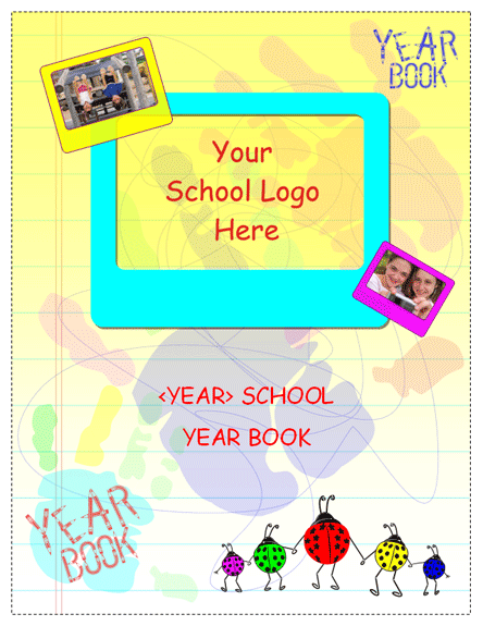 student year book template