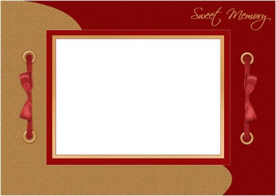 sweet memory photo frame template
