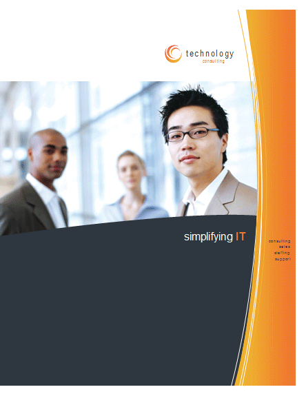 Click Technology Business Brochure Template Now to download the template.