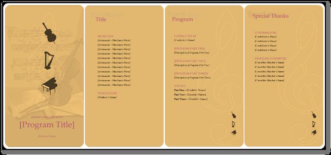 Concert Flyer Template