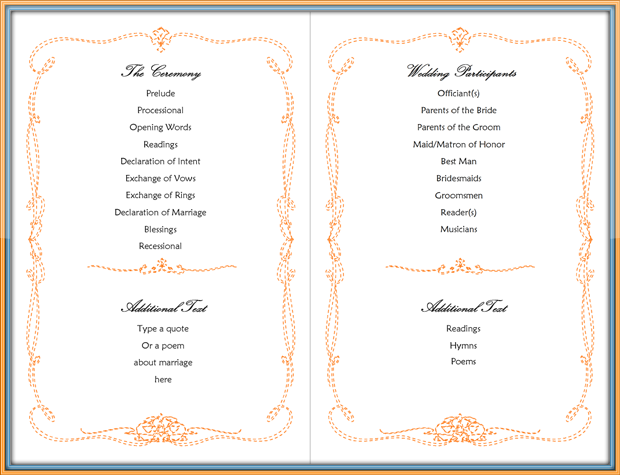 Simple-Wedding-Program-Template